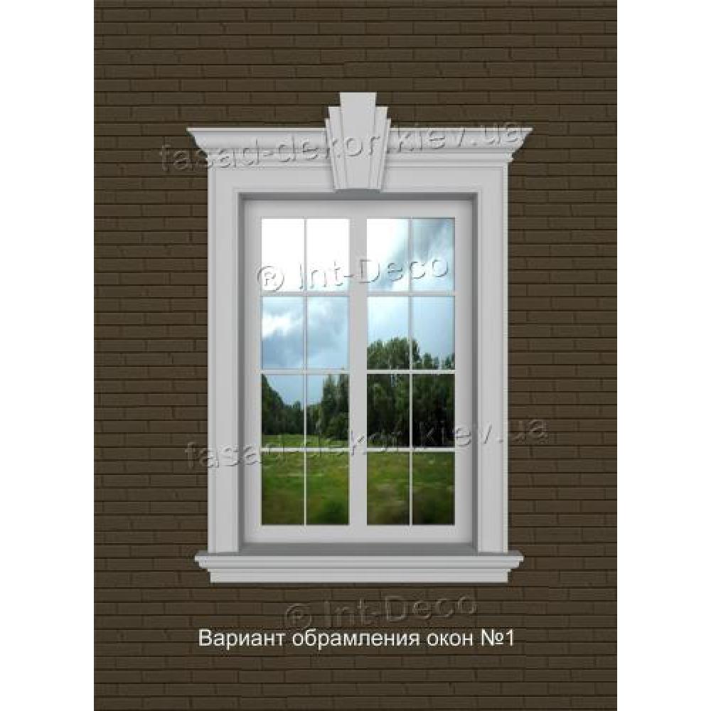 Фасад дома варианты отделки окон на фасаде №1
